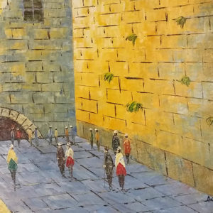 kotel close up