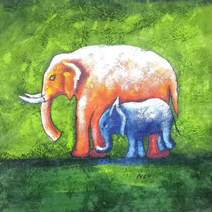 coconut green elephant
