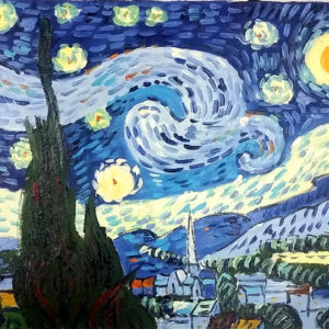 van goage stary night