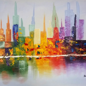 colorfull city new